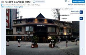 Respiro Hotel Avcılar Booking Puan